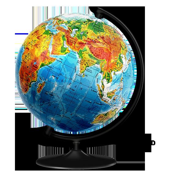 Globus mit Spartipp