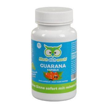 Hellwach. Dank Guarana!