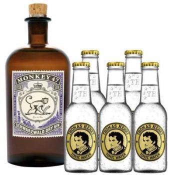 Monkey 47 Gin + Tonic