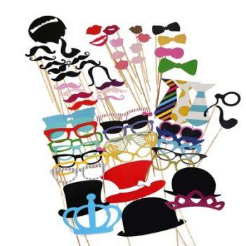 Schicke Masken für die Fotos