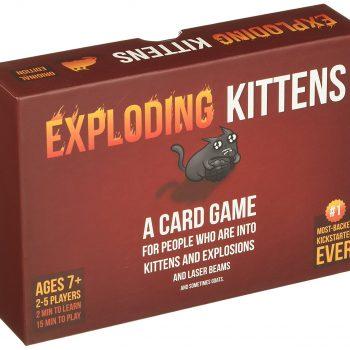 """""""Explodierende Katzen"""" als Kartenspiel"""