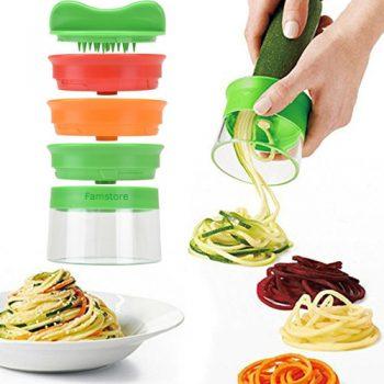 Spiralschneider: Spiralisiere Obst & Gemüse