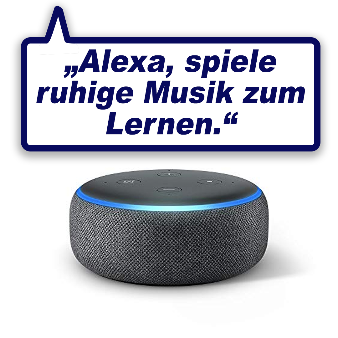 Intelligenter Smart-Speaker mit Alexa