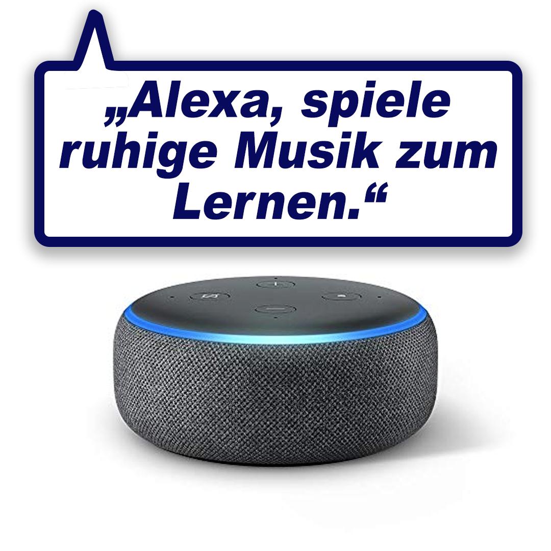 Intelligenter Smart-Speaker mit Alexa